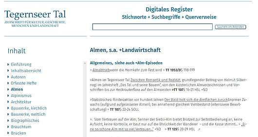 Symbolbild Digitales Register